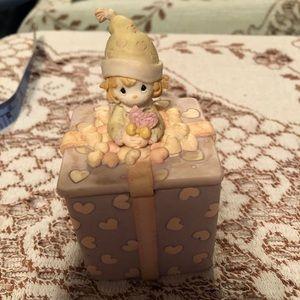 Precious moments trinket box